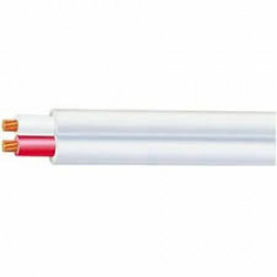 CABLE 1.5mm STR Twin Flat White OLEX