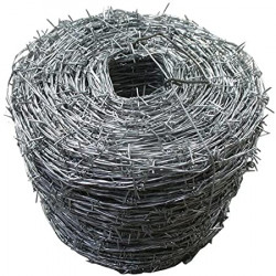 BUDGET HI-TENSILE BARBED Wire Zinc Coated 500M