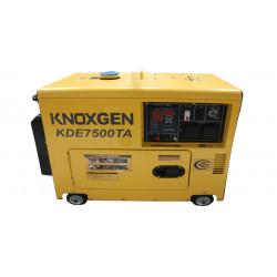 GENERATOR Diesel 7500w SP 50HZ 5.0KVA KNOXGEN