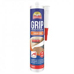 ADHESIVE Construction Sealant 310ml 1 Hr Cure GORILLA GRIP