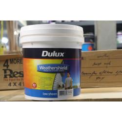 DULUX Low Sheen w/Sheild X10 Ex-Bright 10LT