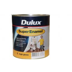 DULUX High Gloss Super Enamel Vivid White 4LT