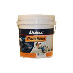 DULUX Low Sheen W&W101 ADV Vivid White 10LT