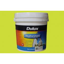 DULUX Low Sheen w/Shield X10 Vivid White 10LT