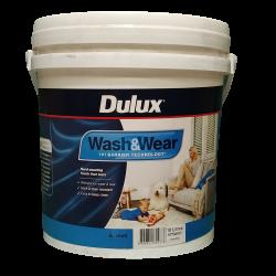 DULUX Flat W&W101 ADV White 10LT