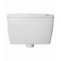CISTERN Bottom Entry Wht D/Flush DUX