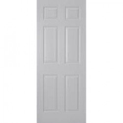 DOOR H/Core 6 Panel White 2040x820x35 HUME