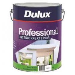 DULUX  Professional Ext Semi-Gloss Acrylic White 10LT
