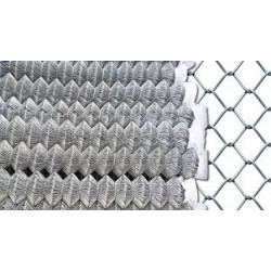 BUDGET FENCE Chainlink Galv 2.5mm(50x50)1.2mx15m