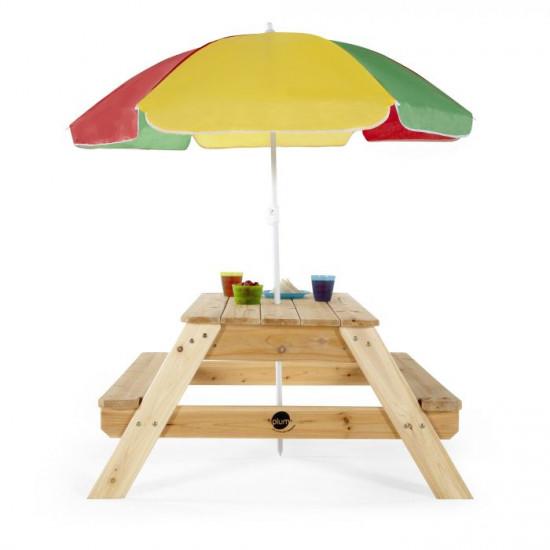 TABLE Kids Picnic w/Umbrella