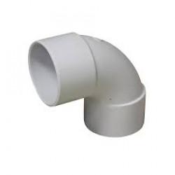 BEND Plain PVC DWV 50mmx88* F&F 50/P